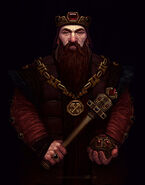 Dwarven king by avalat-d64r44j