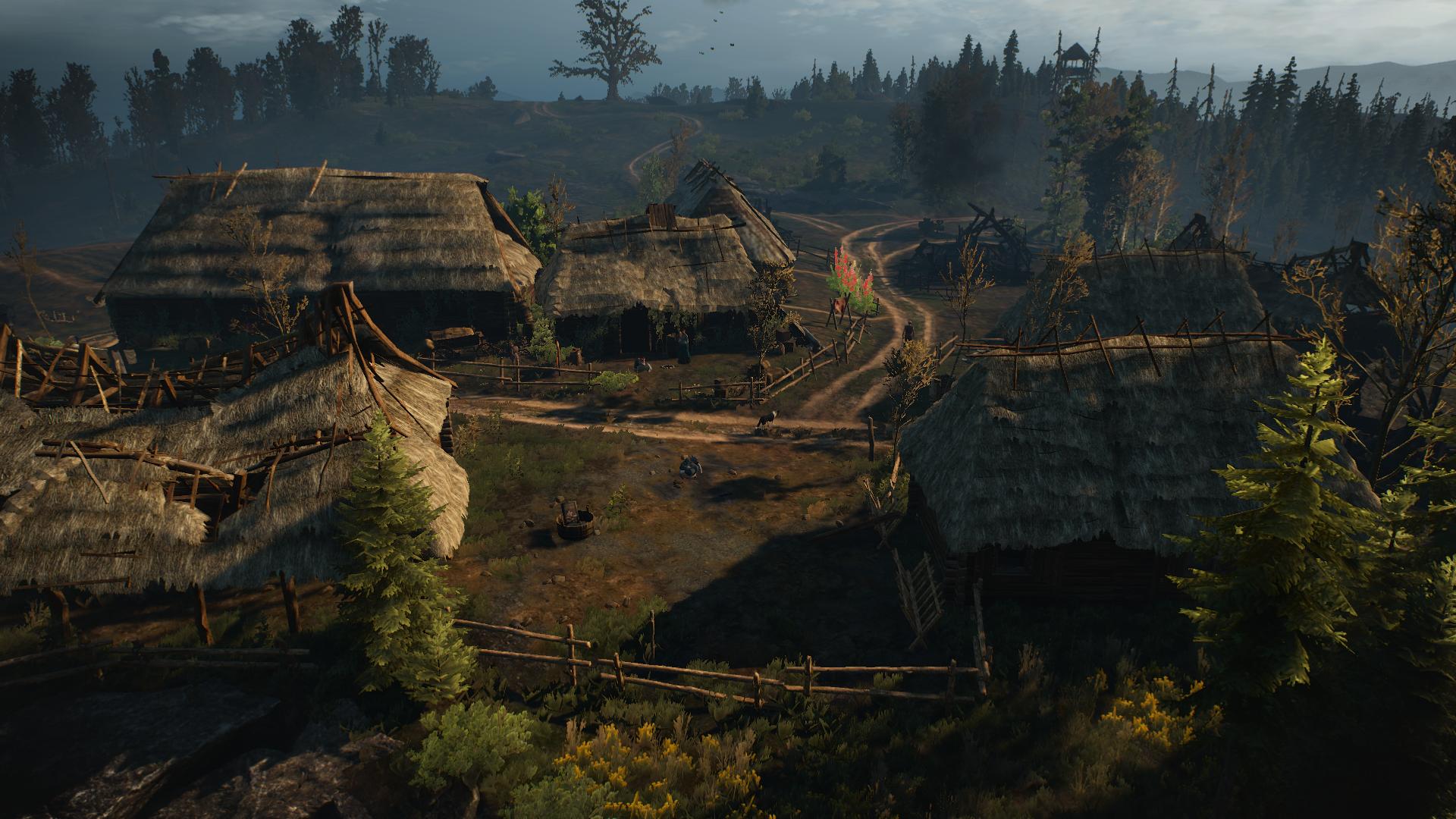 Деревня Яворник