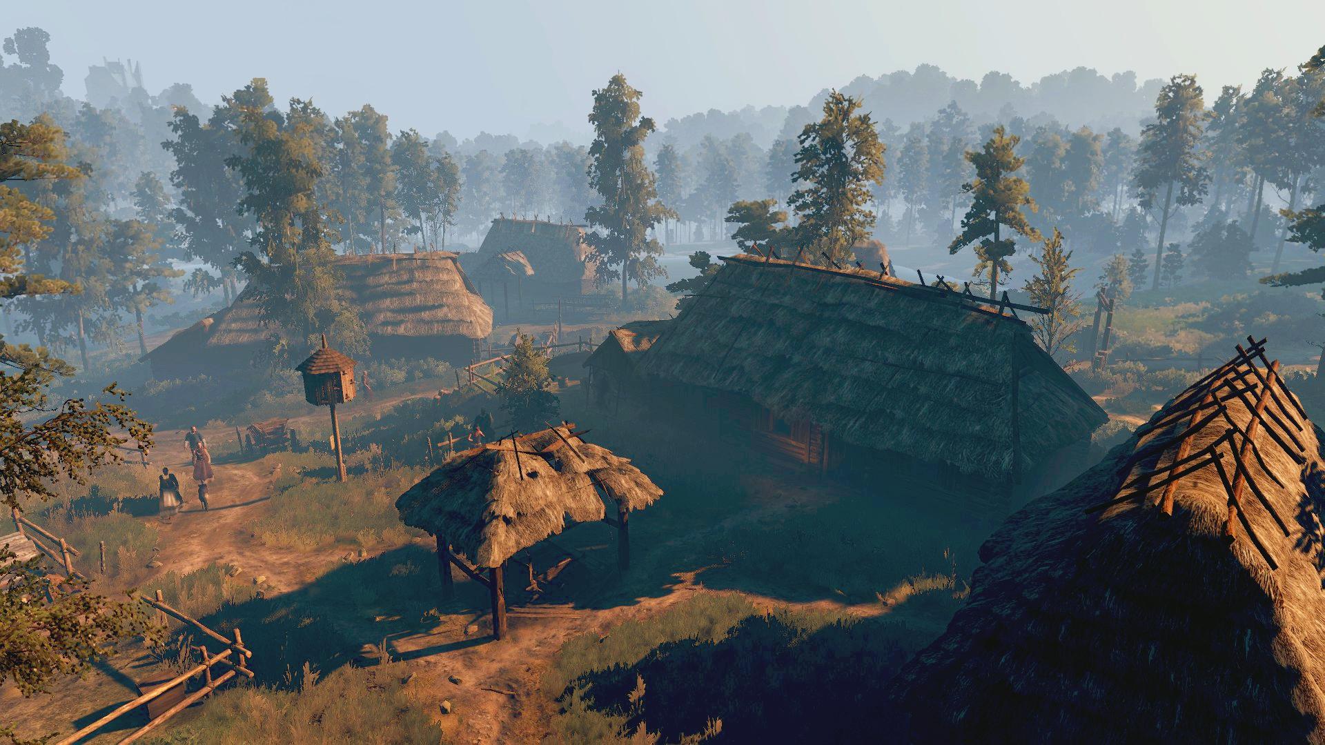 Деревня Большие Сучья