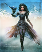 A shard of ice yennefer by justanor-d6q5e7w