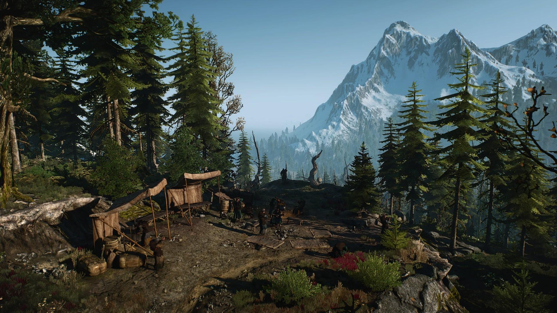 Лагерь друидов