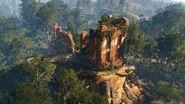 TW3 Белый Сад. Руины замка Амавет