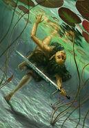 Владычица Озера, рисунок Daniela Ivanova