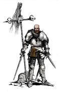Mercenary the witcher enchanced by 2blind2draw-d6k2b5e