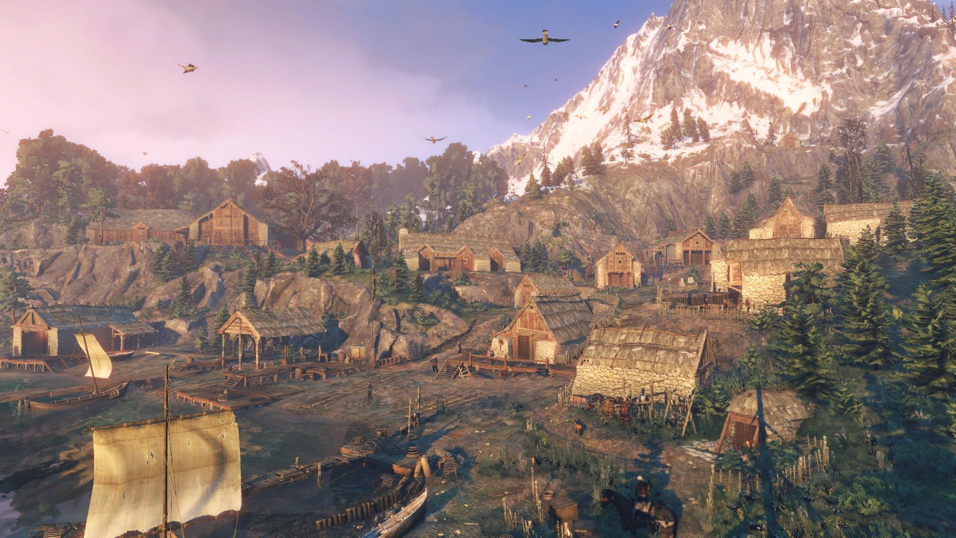 Деревня Сворлаг