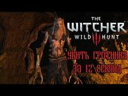 The Witcher 3- Grottore in 12 seconds (WR)