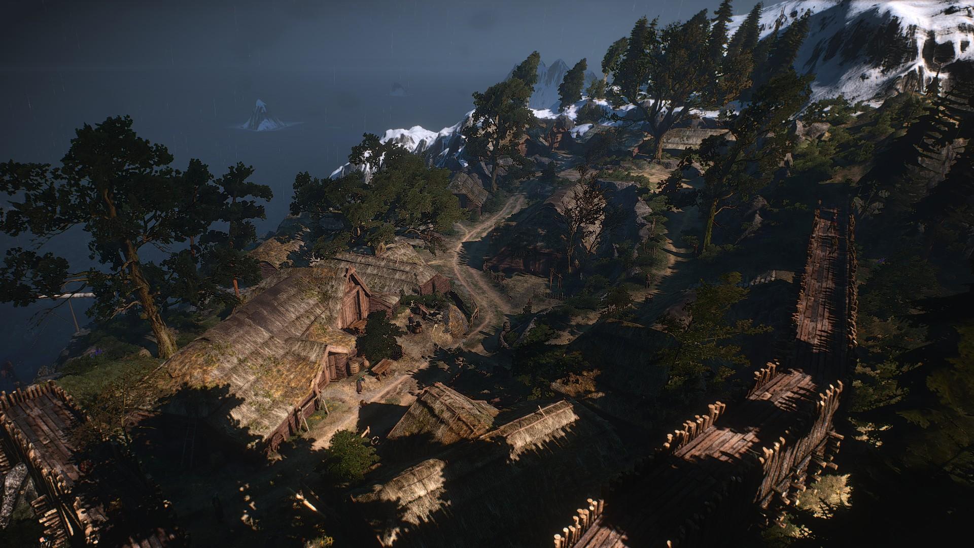 Деревня Ларвик
