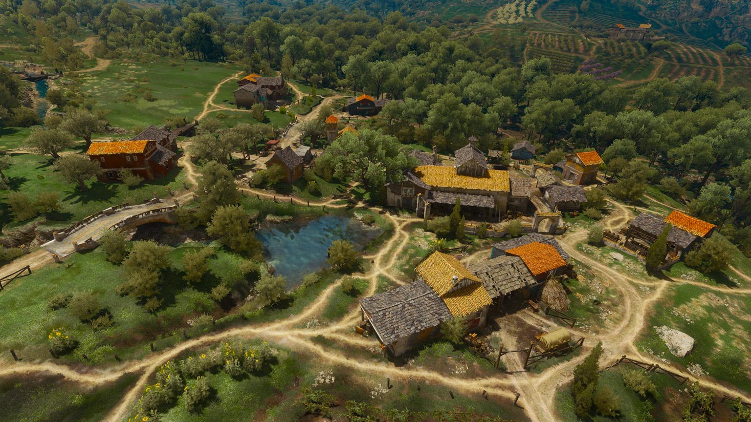 Деревня Франколар