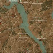 Долина Сансретура карта 1