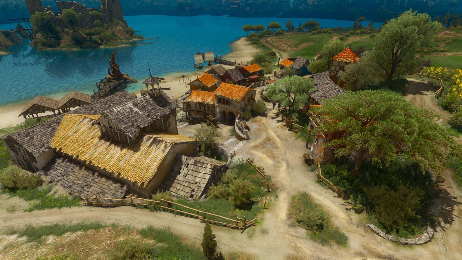 Деревня Фловив