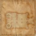 Map Kaer Morhen ground floor