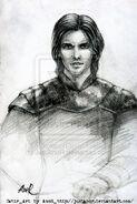 Sketch of cahir by justanor-d3856kd