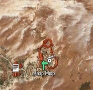 Каэр мюр на карте