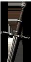 Отличный стальной меч Школы Волка