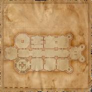 Map Kaer Morhen first floor