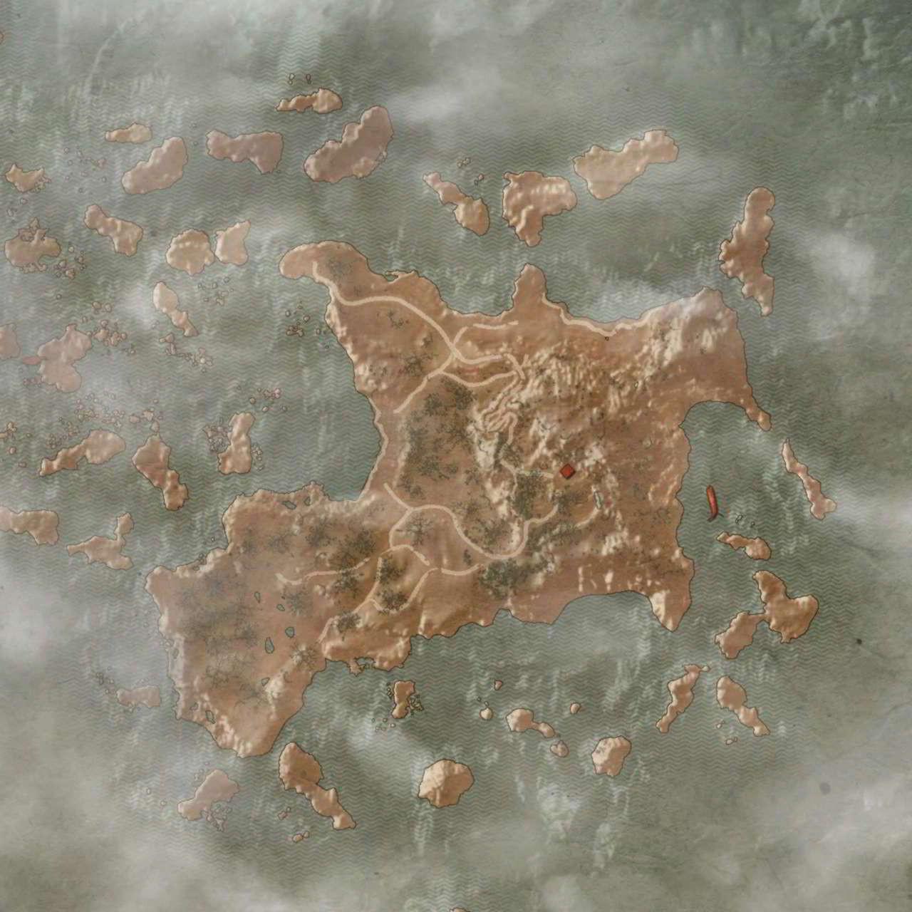 Остров Туманов