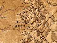 Каэр морхен на карте