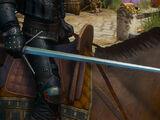 Серебряный ведьмачий меч