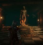 Статуя врана