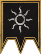 Флаг баннер нильфгаарда1