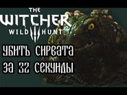 The Witcher 3- Sirvat in 32 seconds (WR)