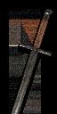 Боклерский стальной меч