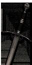 Гроссмейстерский стальной меч Школы Волка