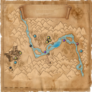 Карта долины каэр морхенВ1