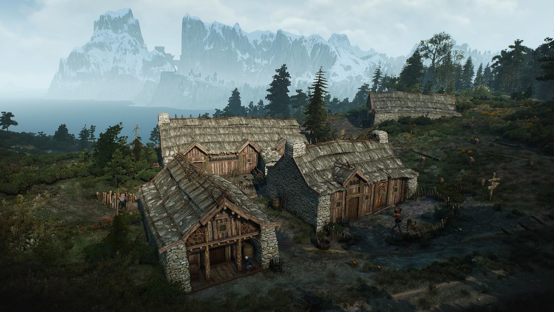 Деревня Сунд