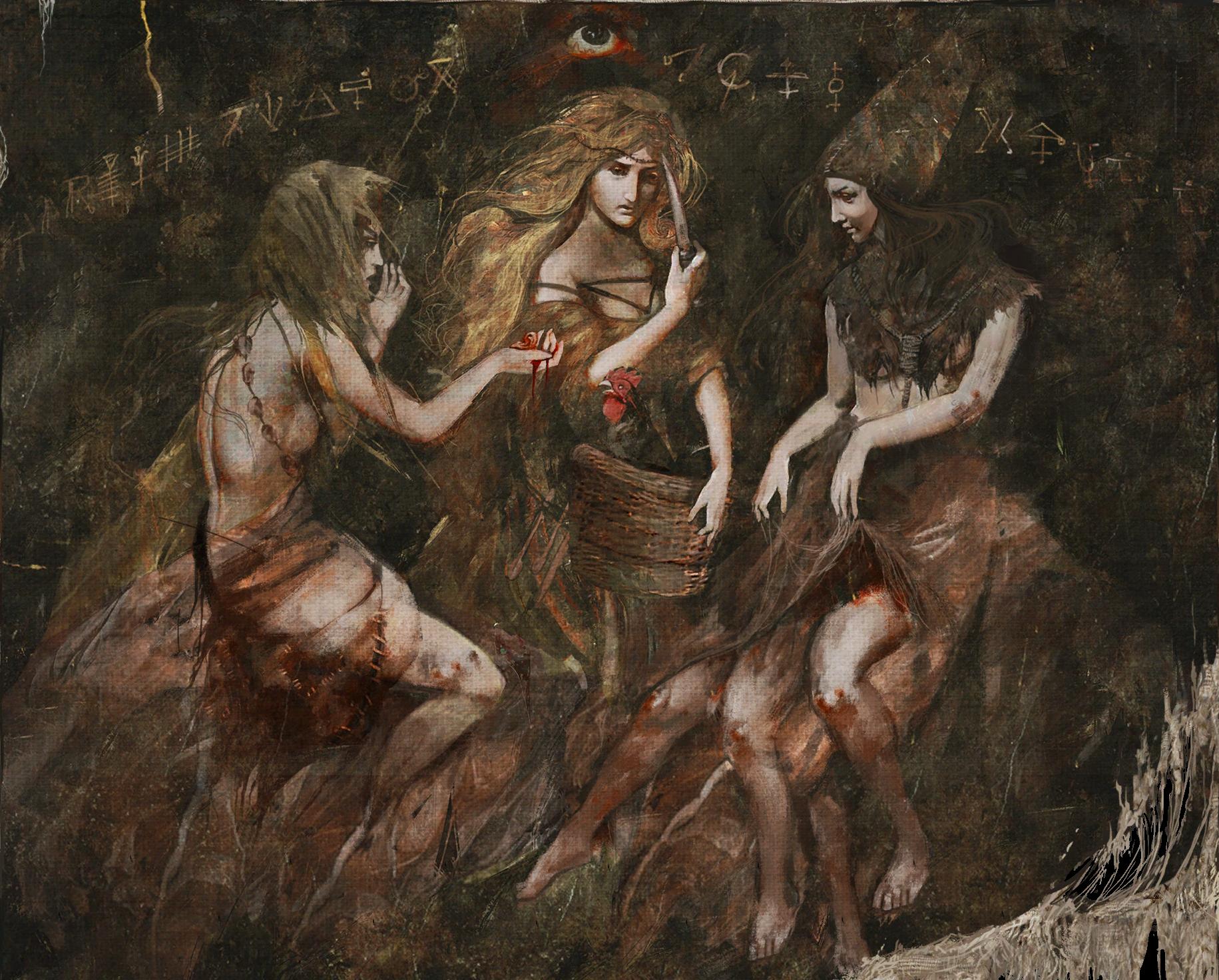 Ведьмы с Кривоуховых болот