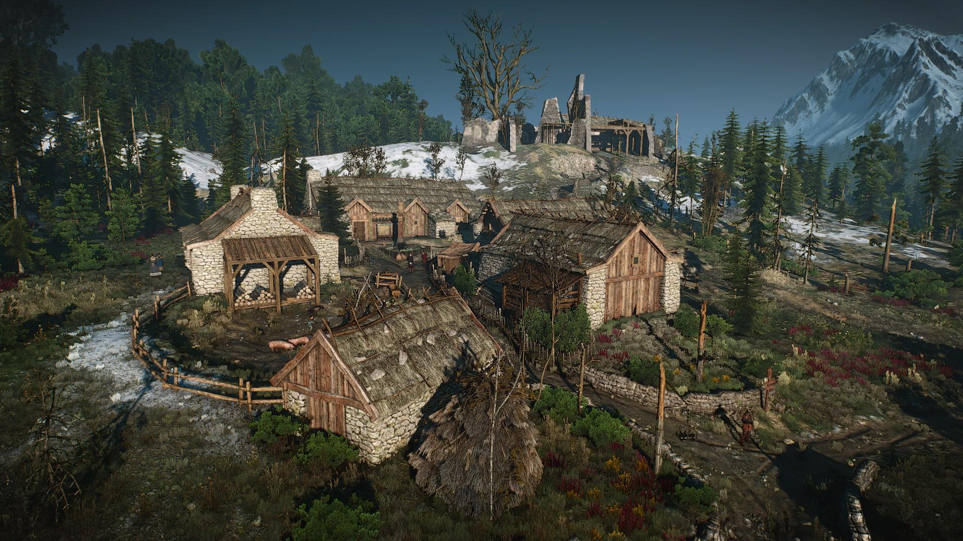 Деревня Бландаре