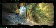 Камень путника в старой шахте