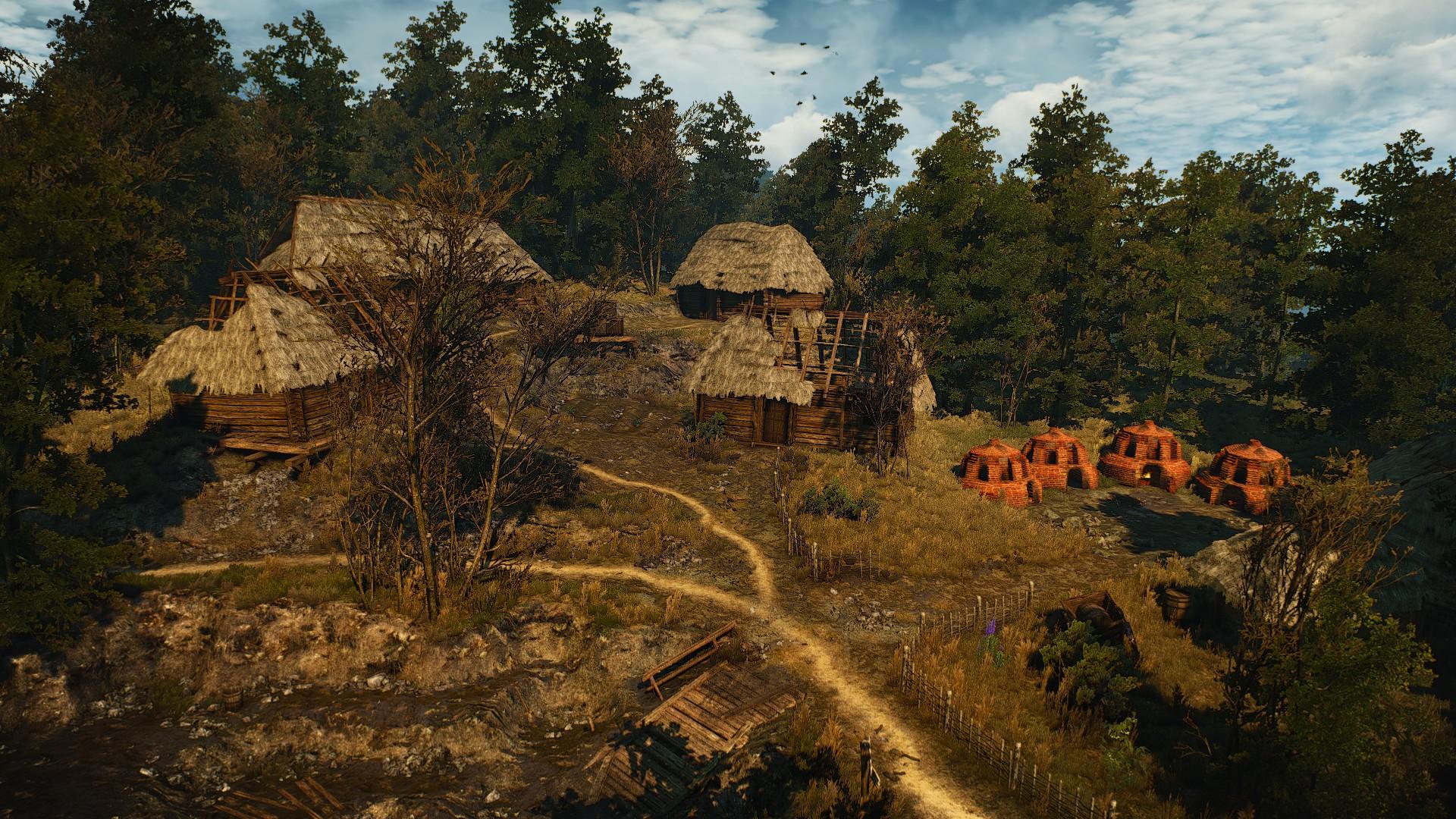 Деревня Стёжки