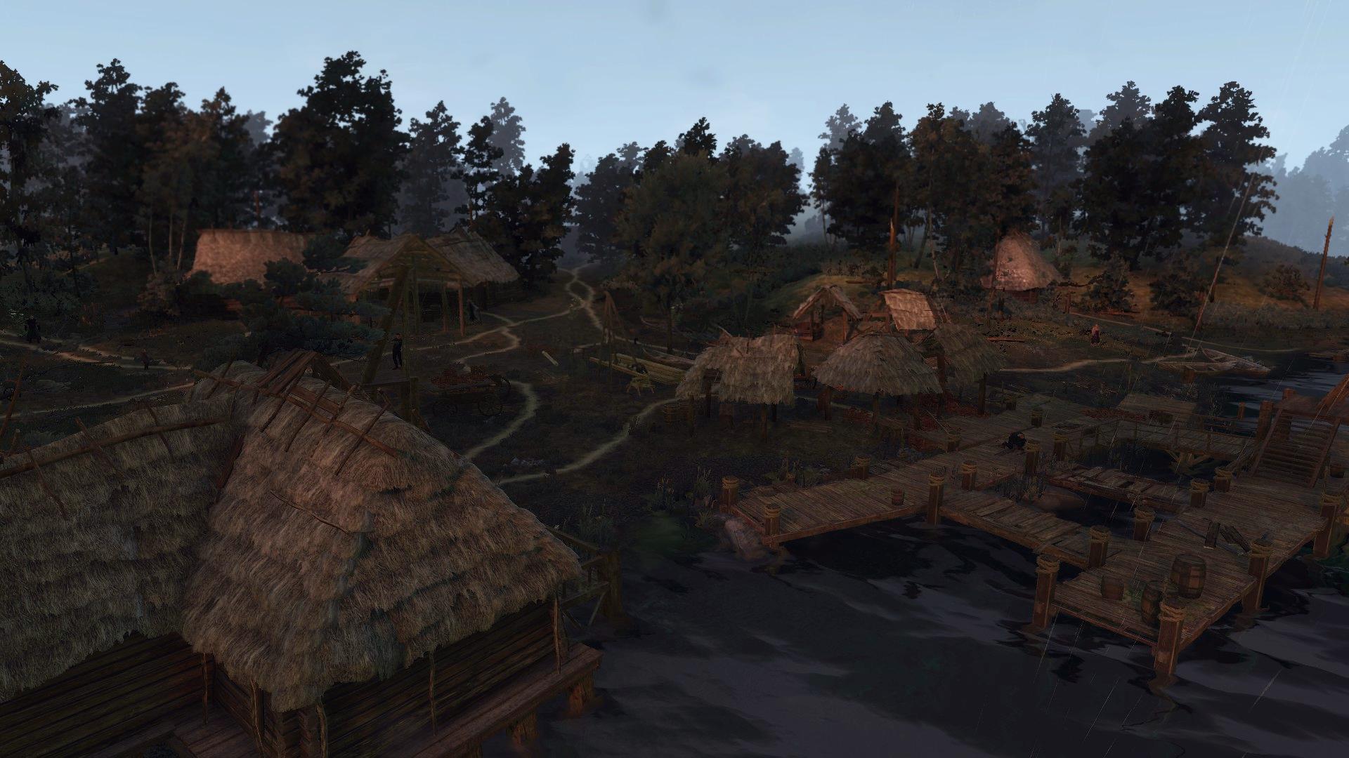 Деревня Черминь
