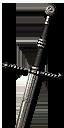 Мастерский стальной меч Школы Волка