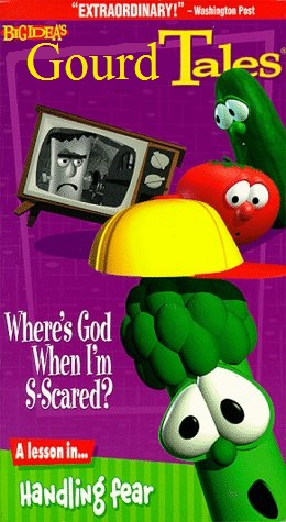 GourdTales: Where's God When I'm S-Scared? VHS (1999) (Lyrick Studios reprint)