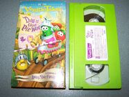 VeggieTales Duke and the Great Pie War 2004 VHS Sony Wonder