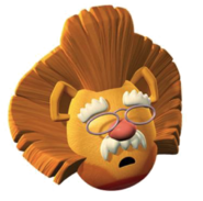 """Lion Pa in """"The Wonderful Wizard of Ha's"""""""