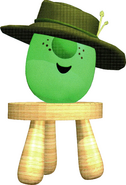 Tom Grape with Brown Hat Stool