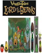 VeggieTales Lord of the Beans Concept Art