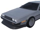 CMD Hovercar (DMC DeLorean)