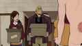 Dean moves into the dorm with Mr. Reachy