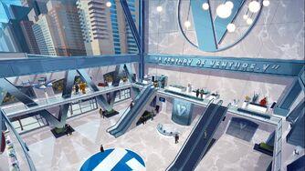 VenTech Tower lobby