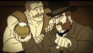 Sandow Begs Colonel Venture
