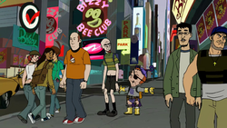 Rusty Venture and Billy Quizboy in Times Square.png
