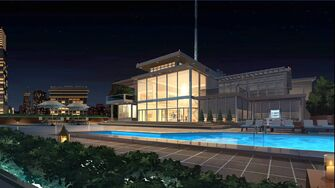 VenTech Tower - rooftop pool