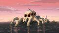 Spider-Skull Island exterior