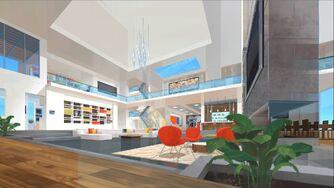 VenTech Tower - Venture living room