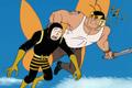 Brock saves Russian Guyovitch