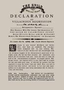 DVA template on parchment